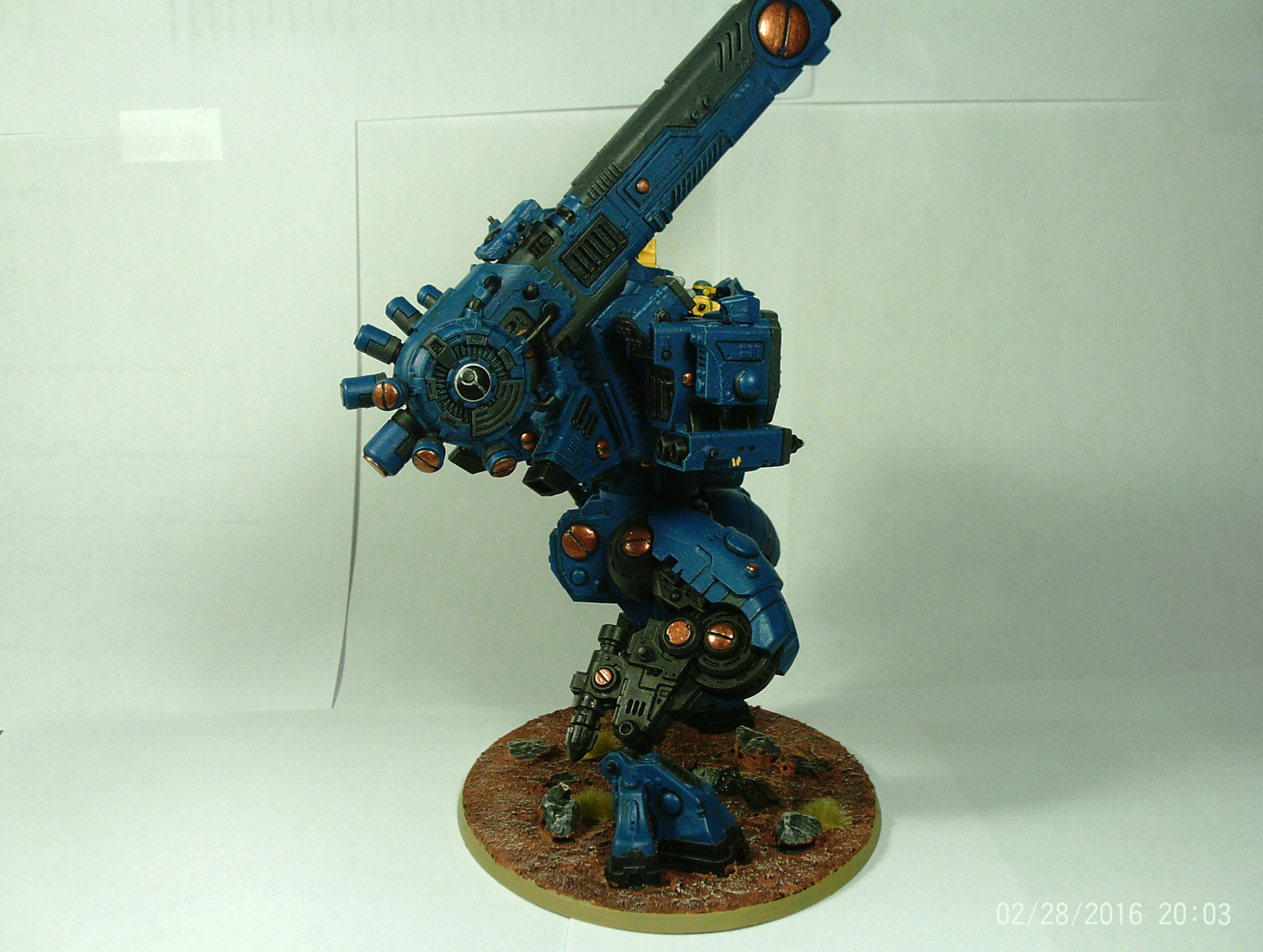 Ballistic, Battlesuit, Creature, Gargantuan, Robot, Stomp, Stormsurge, Suit, Tau, Titan