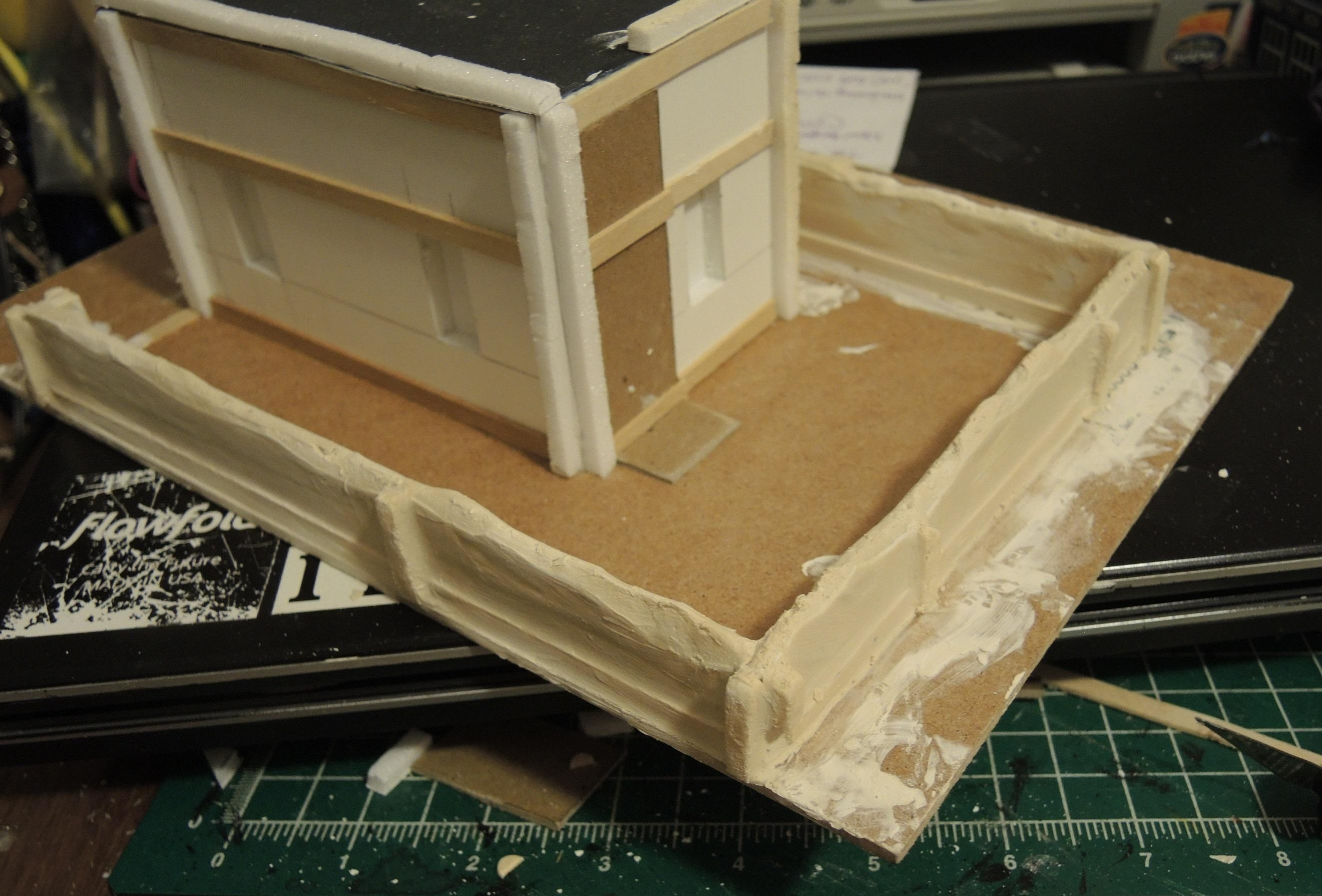 Commission, Commissioned, Game Table, Infinity, Residential, Ruins, Scratch Build, Terrain, Waaazag, Warhammer 40,000, Work In Progress