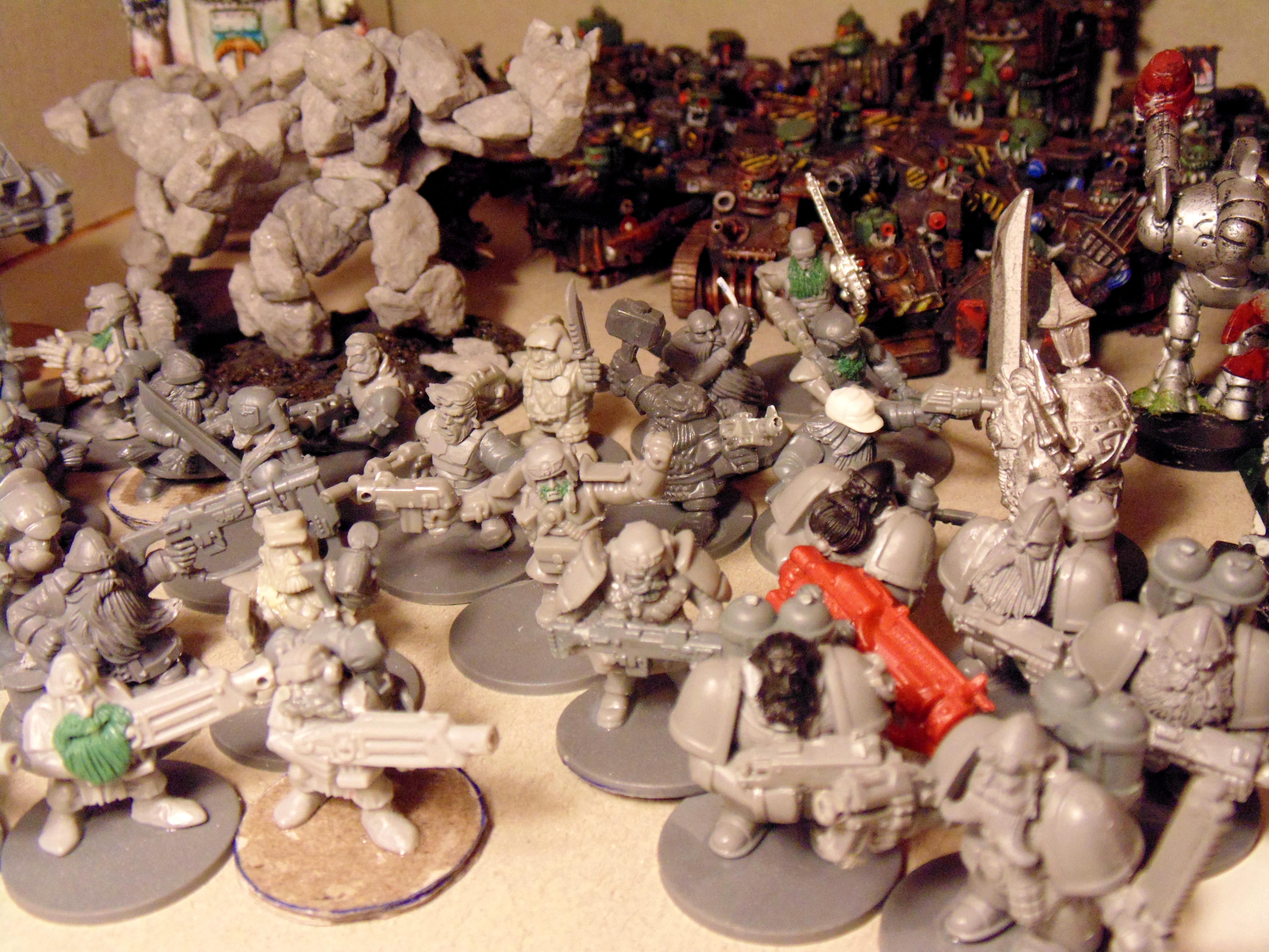Army, Conversion, Creatures, Green, Heavy, Imp, Metal, Squats, Stone, Stuff