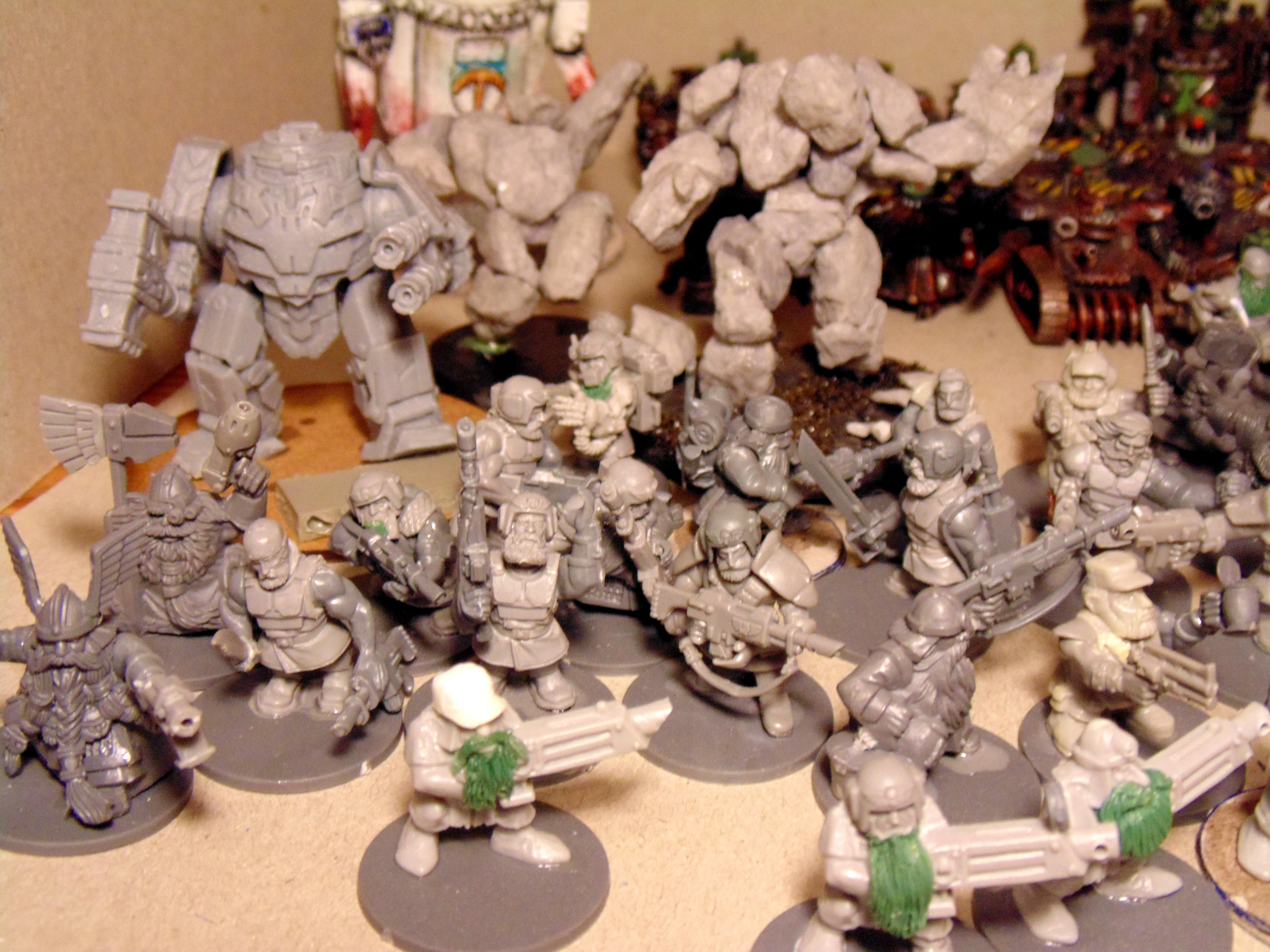 Army, Conversion, Creatures, Green, Heavy, Imp, Metal, Squats, Stone, Stuff