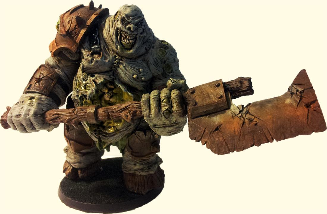 Daemons, Great Unclean One, Guo, Nurgle, Rotten Butcher