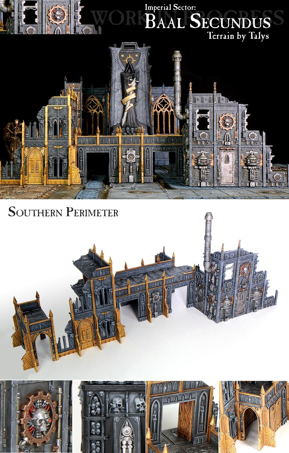 Cities Of Death, Fortress Of Redemption, Terrain