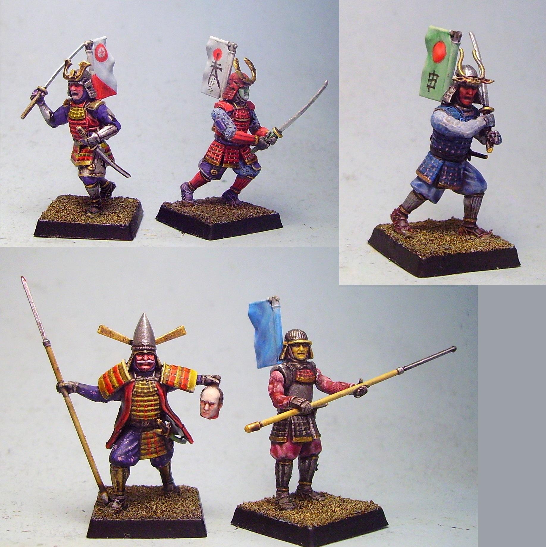 Japanese, Samurai