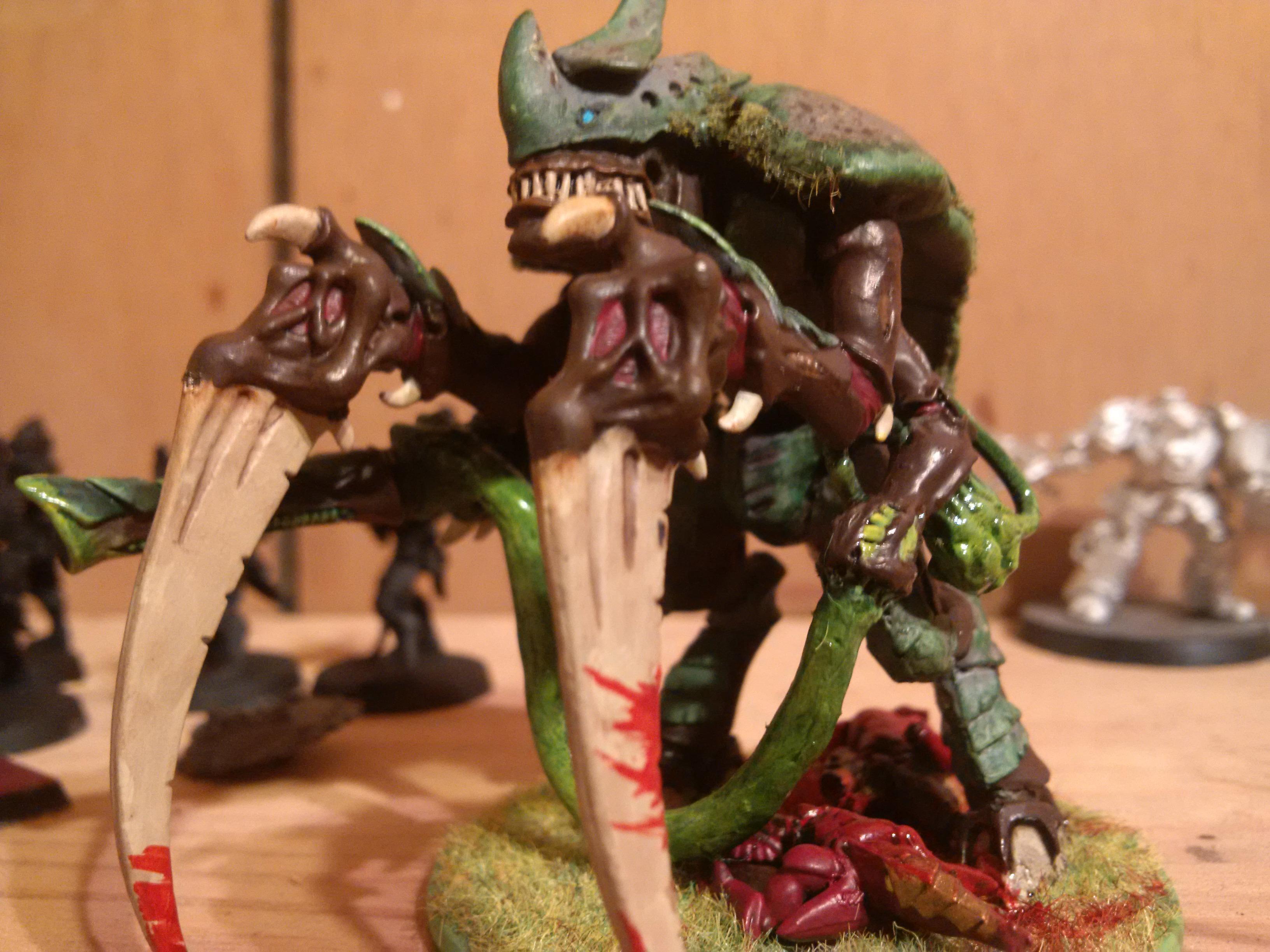 Carnifex, Greenstuff, Jungle, Tyranids