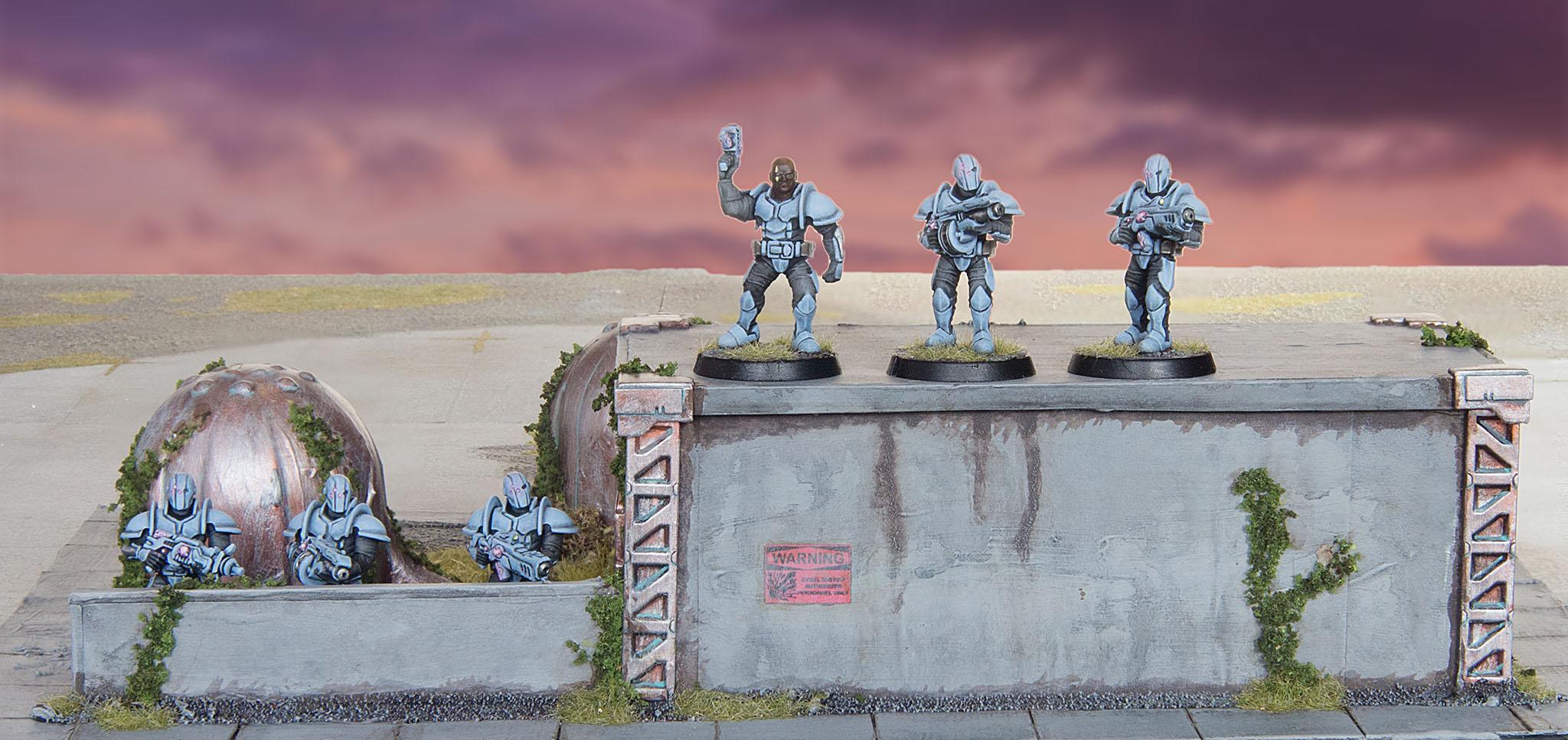 Buildings, Karist Troopers, Maelstrom's Edge, Terrain