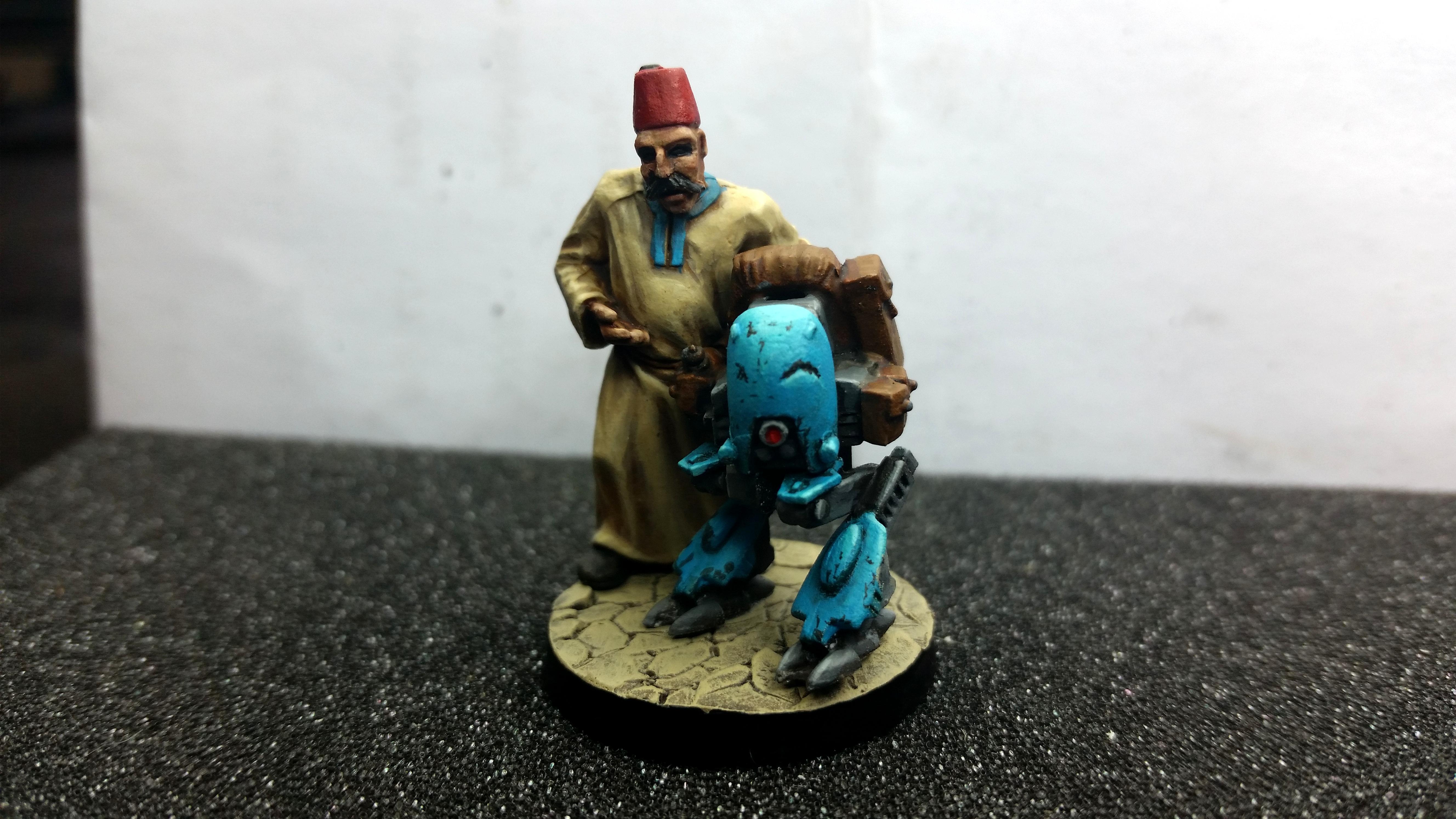 Arab, Merchant, Robot