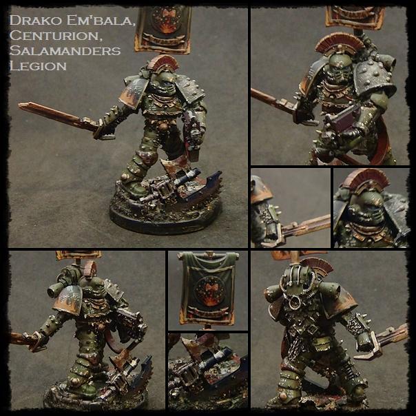 Centurion, Horus Heresy, Istvaan, Salamanders, Shattered Legions, Weathered