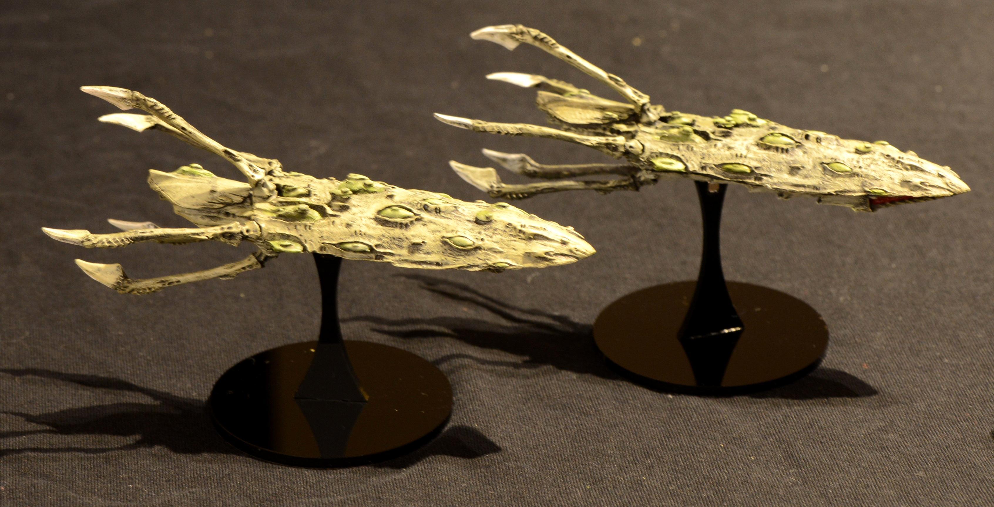 Battlefleet, Battlefleet Gothic, Fleet, Gothic, Hive, Nids, Ship, Ships, Tyranids