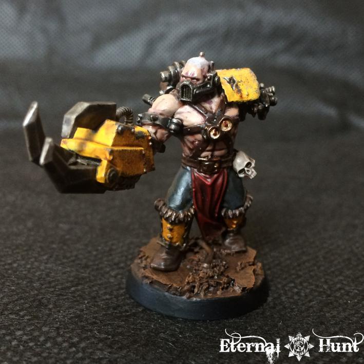 Conversion, Cyborg, Gladiator, Inq28, Inquisimunda, Inquisitor, Inquisitor 28, Kitbash, Necromunda, Pitslave, Warhammer 40,000
