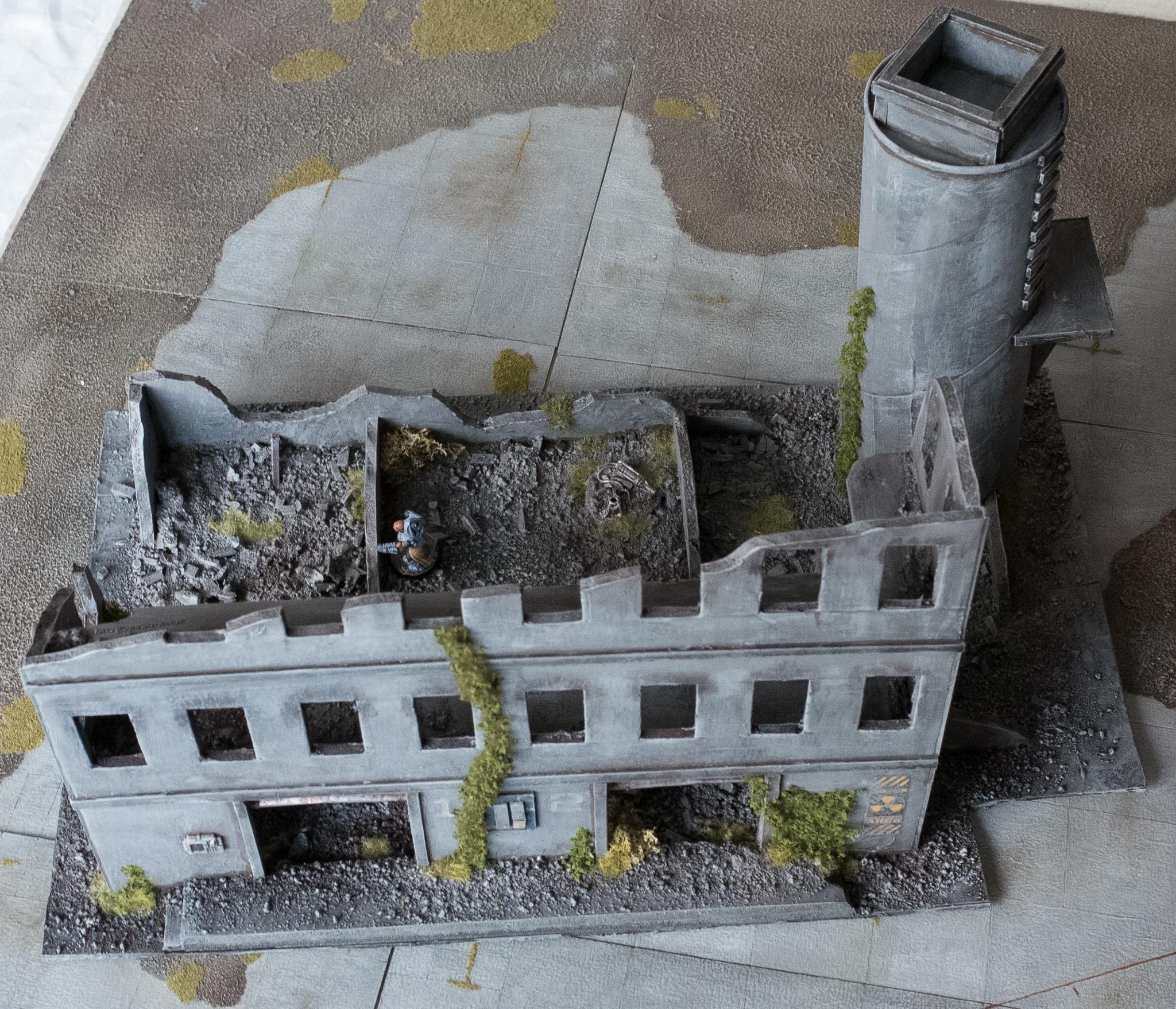Buildings, Factory, Kaddar Nova, Karist, Maelstrom's Edge, Ruin, Shadow Walker, Terrain