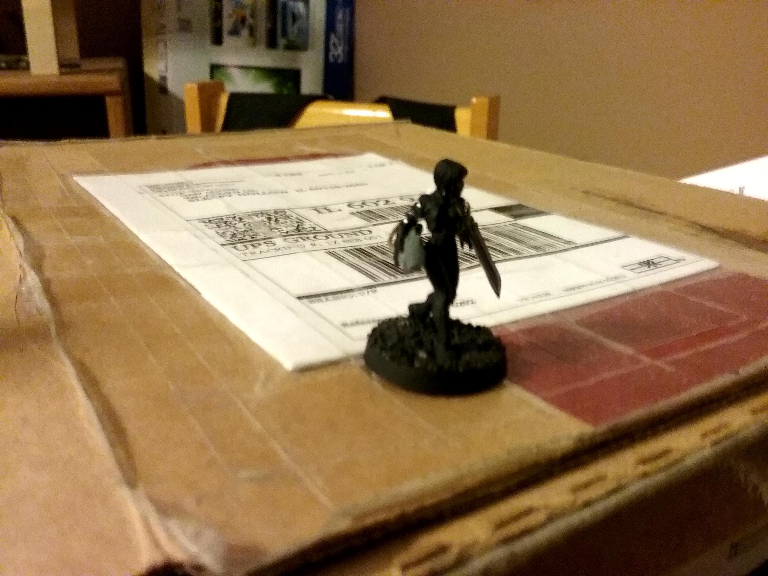 Assassin, Callidus, Greenstuff, Work In Progress