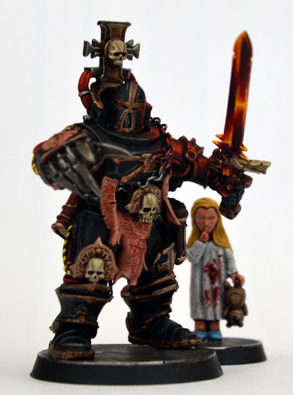 54mm, Inquisitor, Radical, Warhammer 40,000