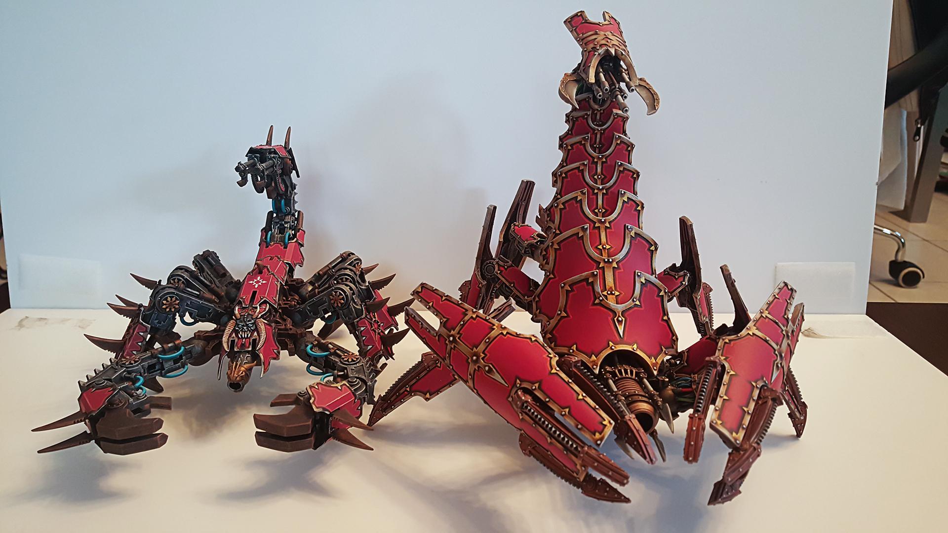 Chaos, Forge World, Khorne, Scorpion, Warhammer 40,000