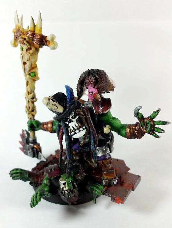 Orks, Psychic, Psyker, Shaman, Voodoo, Warhammer 40,000, Warp'ead, Warphead, Weirdboy, Witch Doctor, Witchdoctor, Zombie