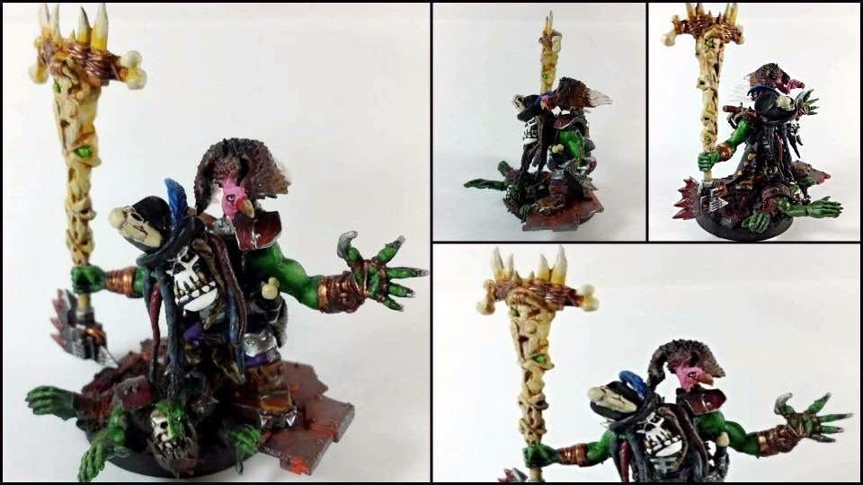 Orks, Psyker, Shaman, Voodoo, Warhammer 40,000, Warp'ead, Warphead, Weirdboy, Witch Doctor, Witchdoctor, Zombie
