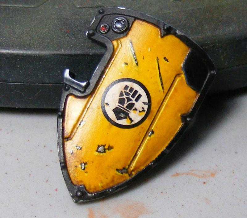 3d Printing, Boarding, Imperial Fists, Shield