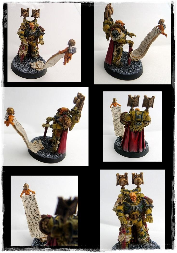 Adepus Astartes, Battle Damage, City, Imperial Fists, Master Of The Marches, Rubble, Ruins, Space Marines, Urban, Weathered, Yellow
