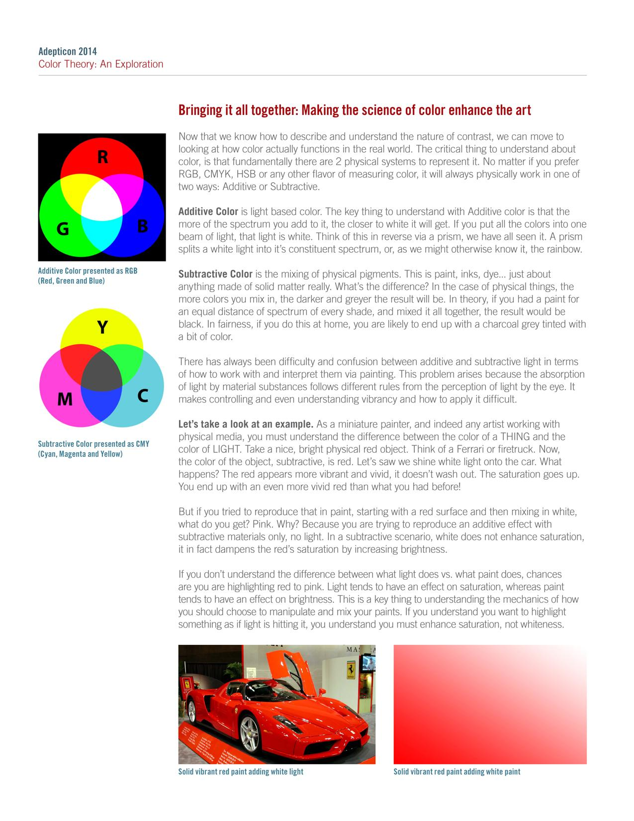 Acrylic, Color Theory, Mediums, Tutorial