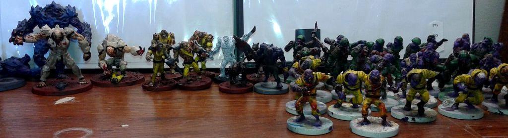 Deadzone, Firefight, Plague, Warpath
