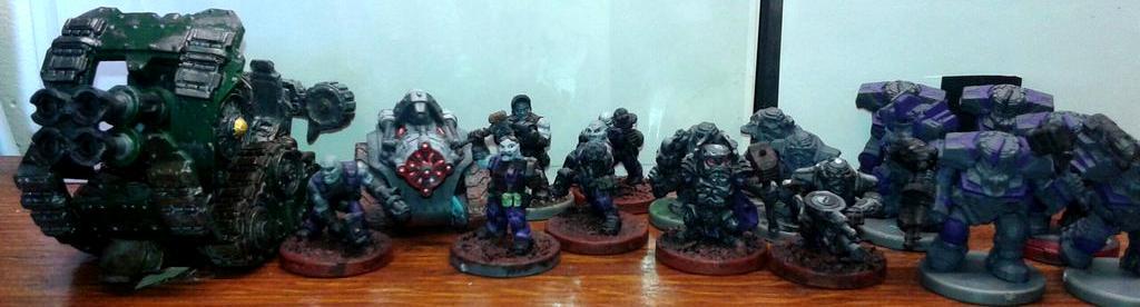 Deadzone, Firefight, Warpath