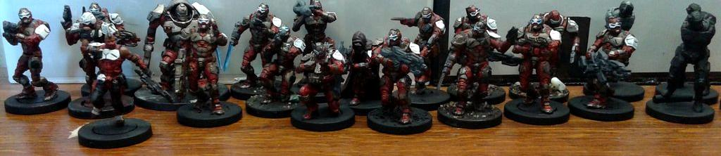 Deadzone, Firefight, Mantic, Warpath