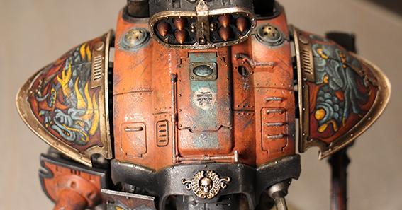 Conversion, Dark, Mechanicum, Mechanicus, Orange