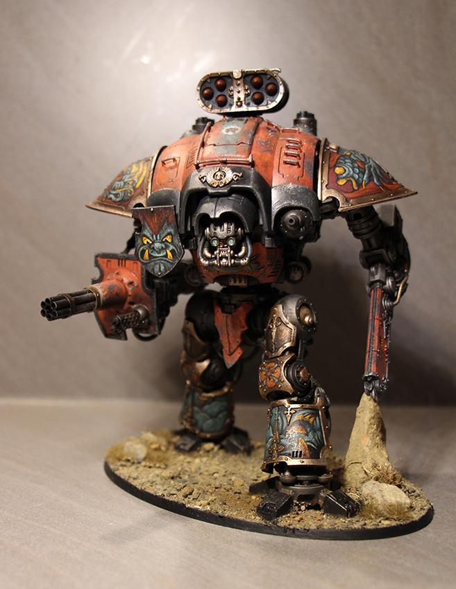 Conversion, Dark, Imperial, Knights, Mechanicum, Mechanicus, Orange