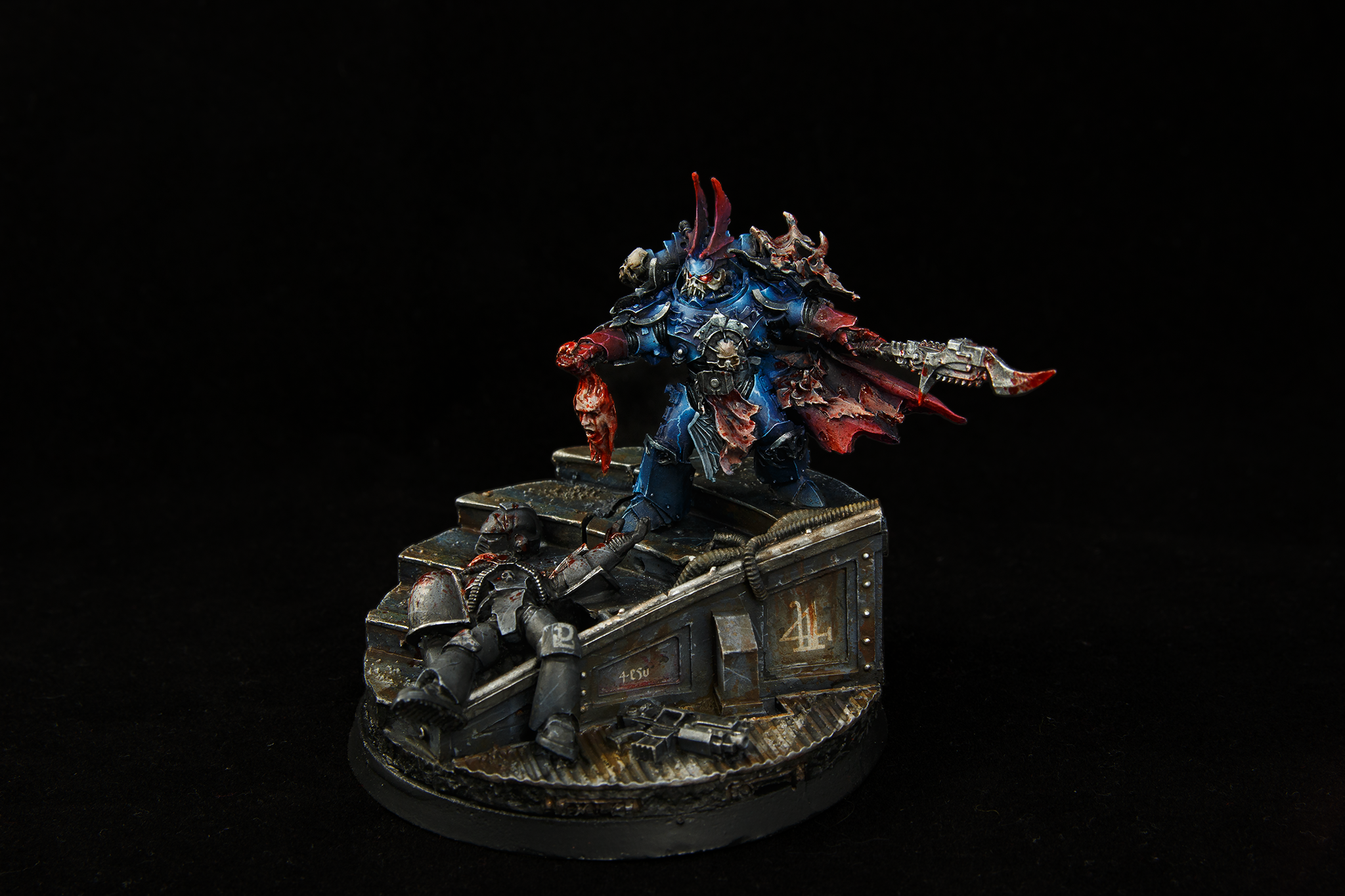 30k, Diorama, Night Lord, Space Marines