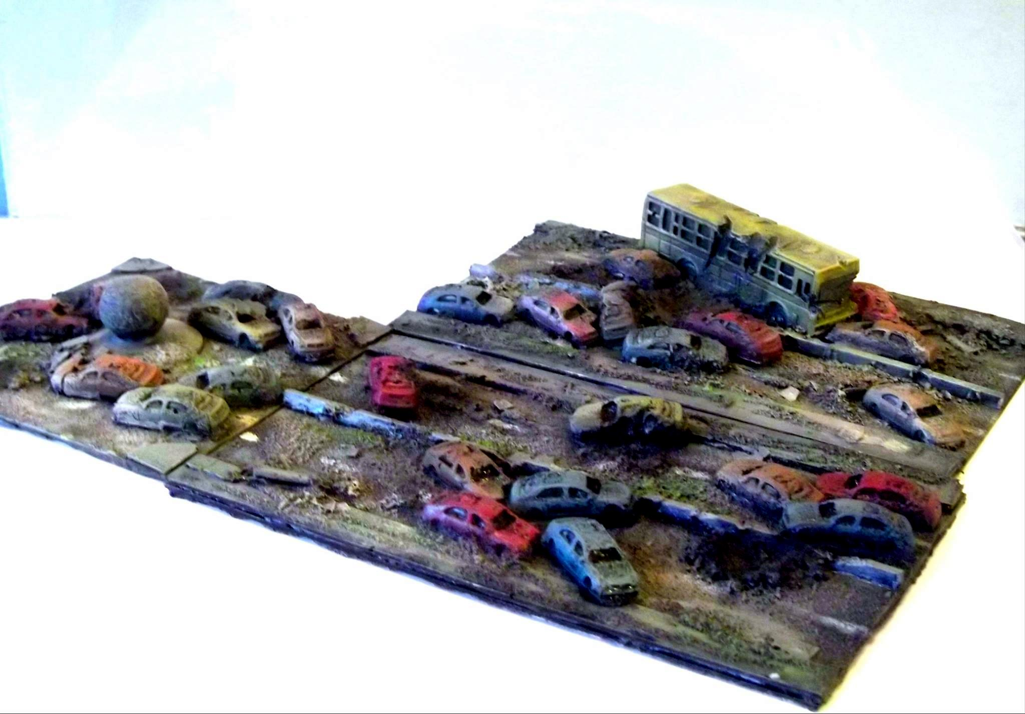 Cars, Dropzone, Dropzone Modular Road, Modular Road, Road, Terrain