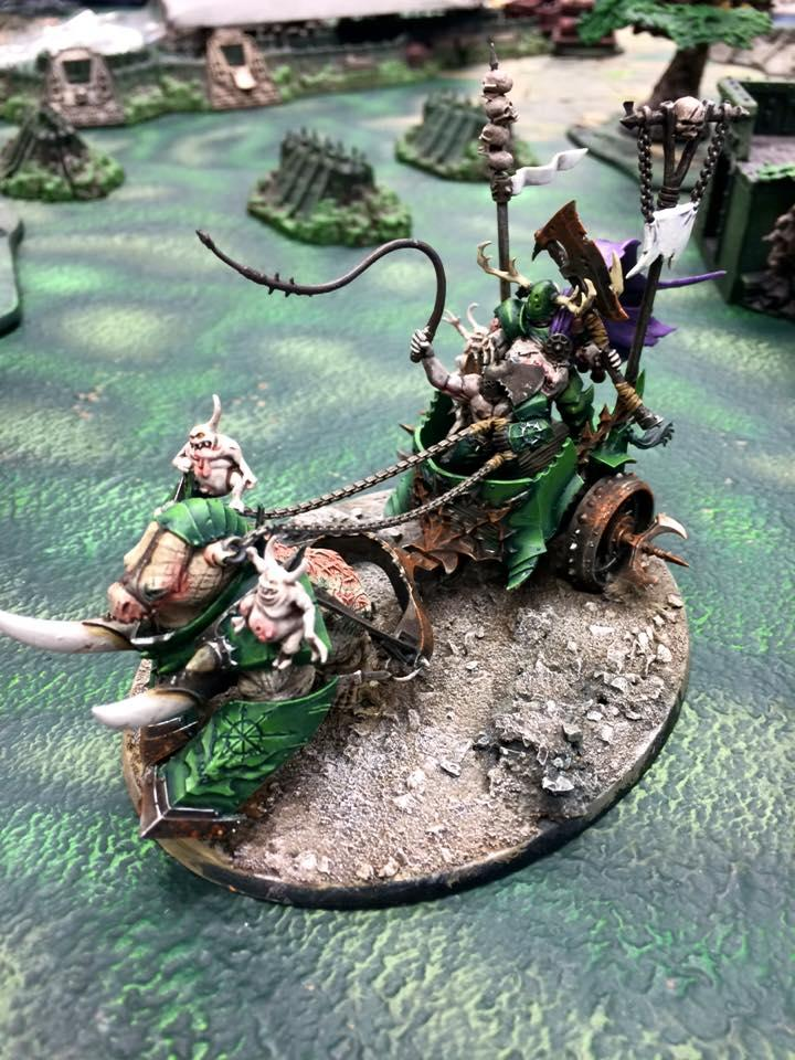 Age Of Sigmar, Chaos, Chariot, Nurgle