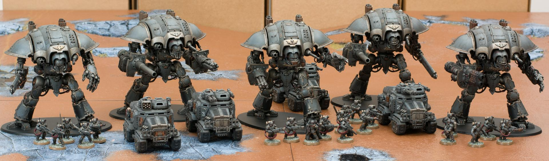 Imperial Guard, Knights, Warhammer 40,000