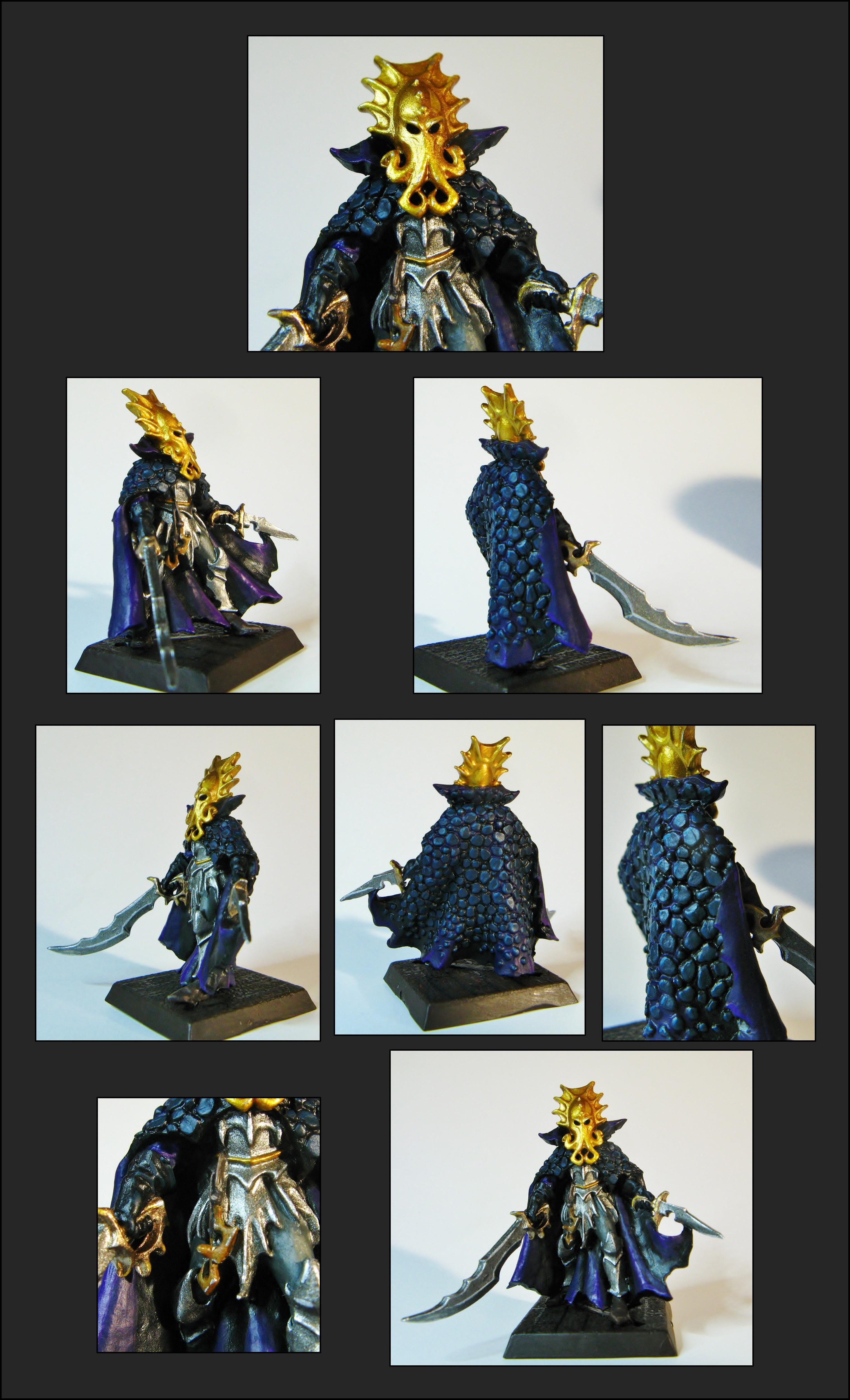 Dark Elves, Scales, Warhammer Fantasy