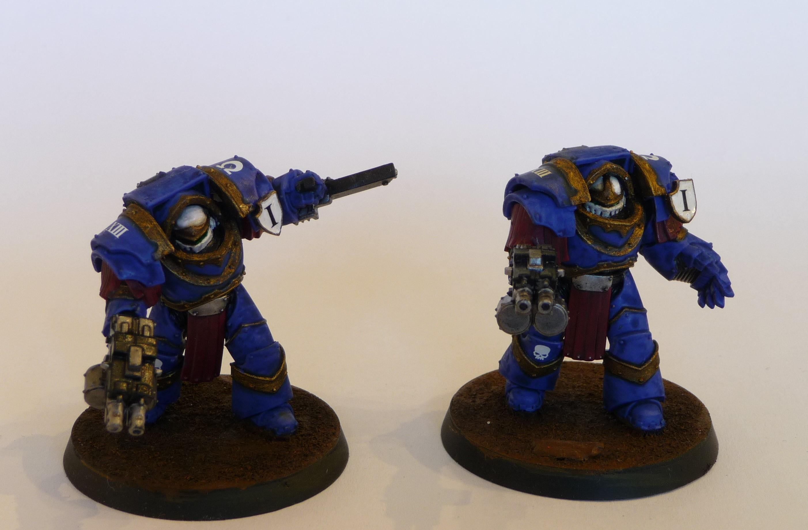 30k, Betrayal At Calth, Cataphractii, Space Marines, Terminator Armor, Ultramarines