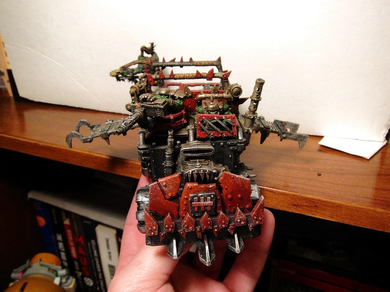 Open Topped, Ork Trukk, Ork Trukks, Orks, Trukk, Trukks, Vehicle