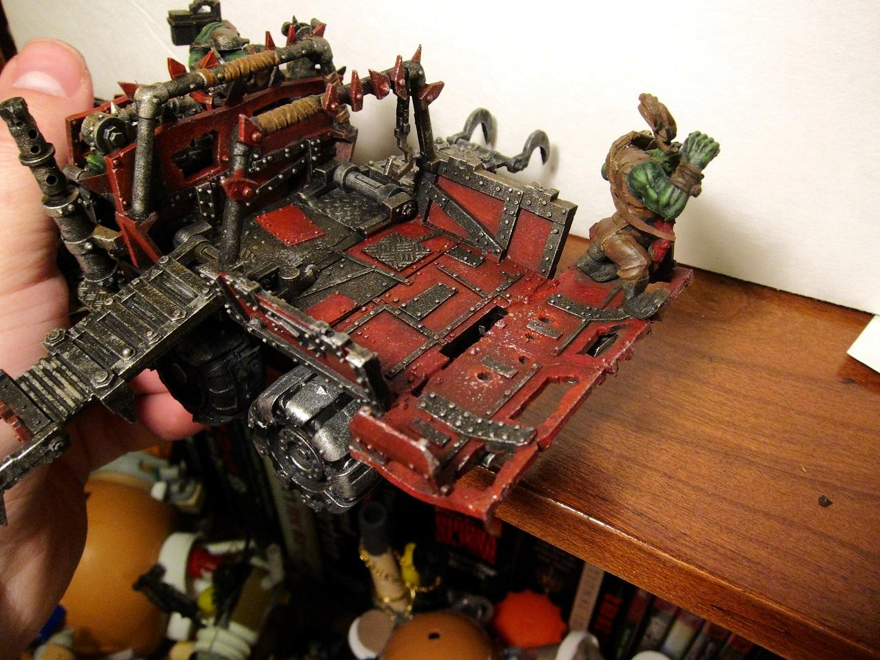 Open Topped, Ork Trukk, Ork Trukks, Orks, Trukk, Trukks, Vehicle