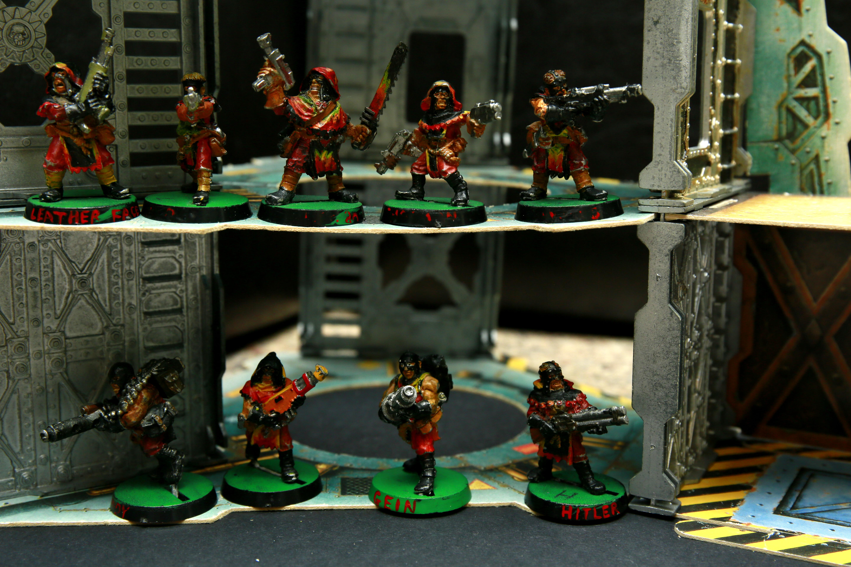 Gang, Necromunda, Specialist Games, Underhive