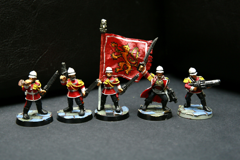 2nd Edition, Astra Militarum, Command Squad, Imperial Guard, Praetorian Guard, Warhammer 40,000