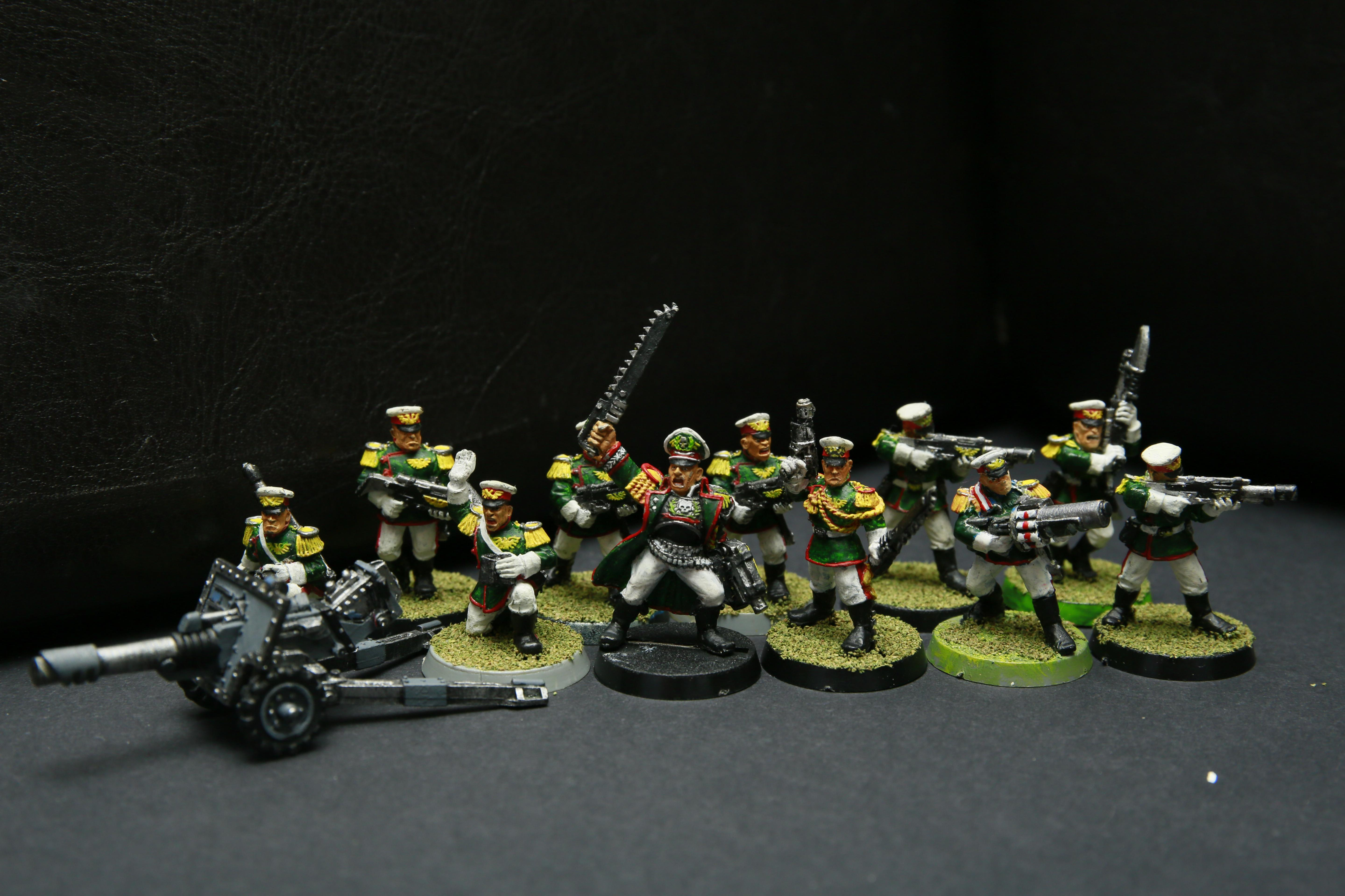 2nd Edition, Astra Militarum, Imperial Guard, Infantry Squad, Mordian Iron Guard, Warhammer 40,000