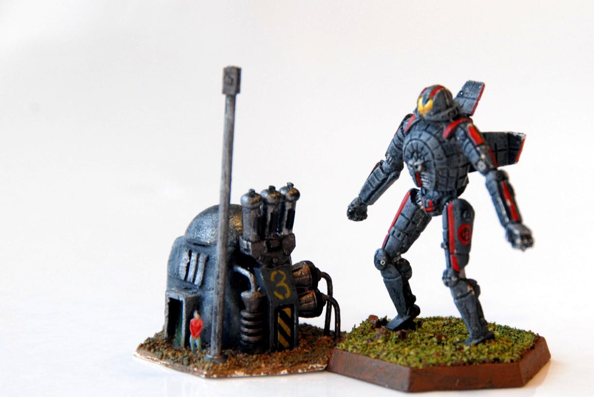 Battletech, Kurita, Mech, Objective Marker, Terrain