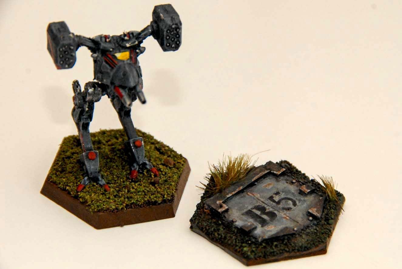 Battletech, Inner Sphere, Kurita, Mech, Objective Marker, Terrain