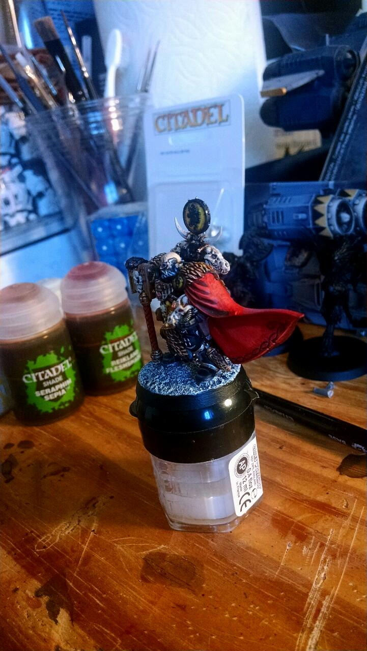 Space Marines, Space Wolves, Ulrik The Slayer, Wolf Priest