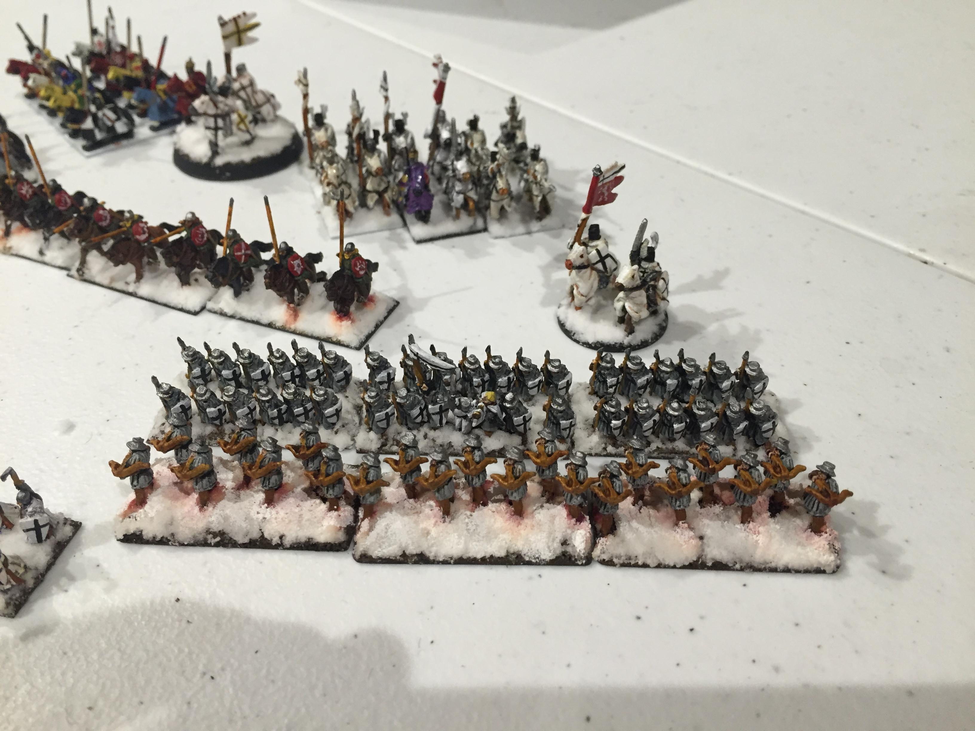 Crusaders, Historical, Teutonic, Warmaster Ancients