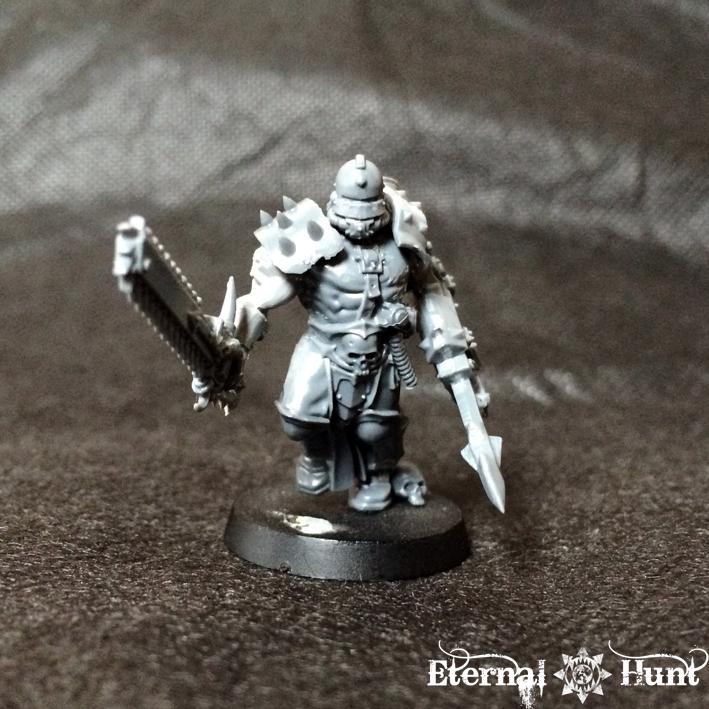 40k Inquisitor, Conversion, Gladiator, Inq28, Inquisitor 28, Inquismunda, Kitbash, Necromunda, Pitslave, Work In Progress