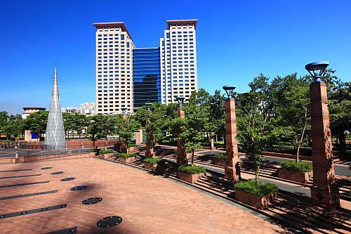 Terrain, banqiao plaza