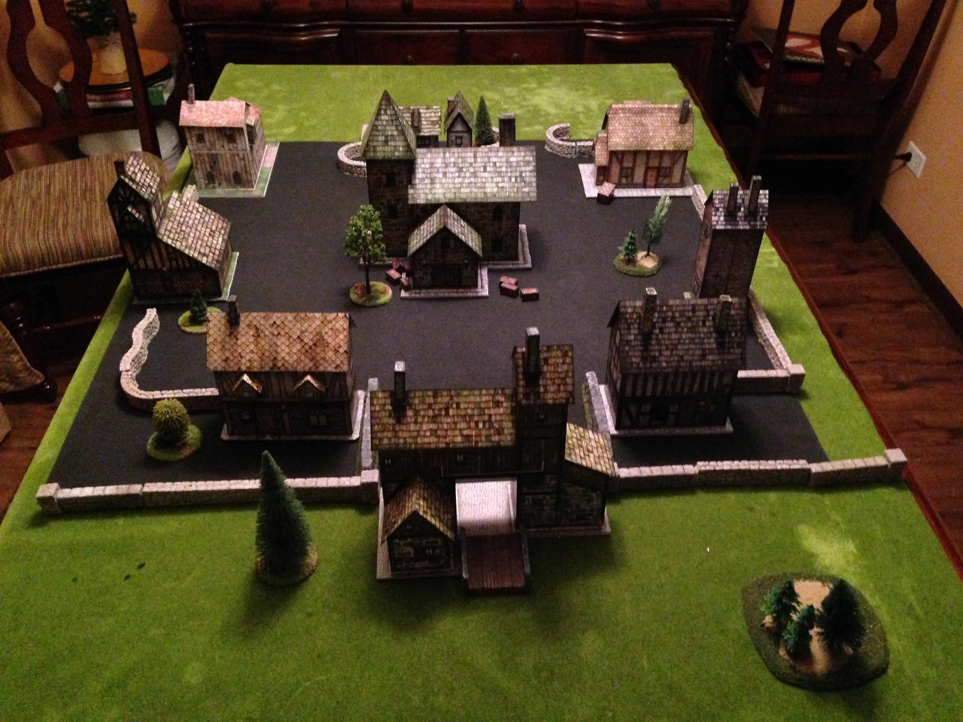 Age Of Sigmar, Battle Report, Dave Graffam Models, Duardin, Dwarf Town, Dwarves, East Gate, End Times, Minature Town, Models, Skaven, Warhammer Fantasy