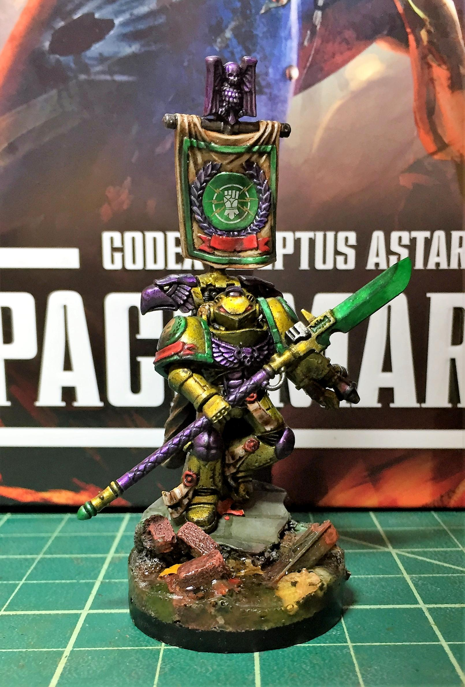 Imperial Fists, Karl Sten - Front Low