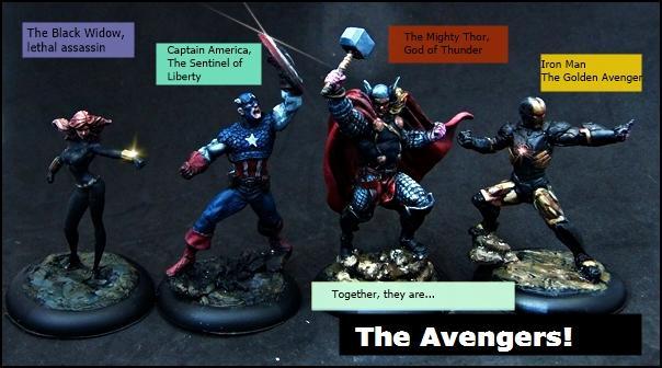 Avengers, Hero, Knight Models, Marvel, Superhero
