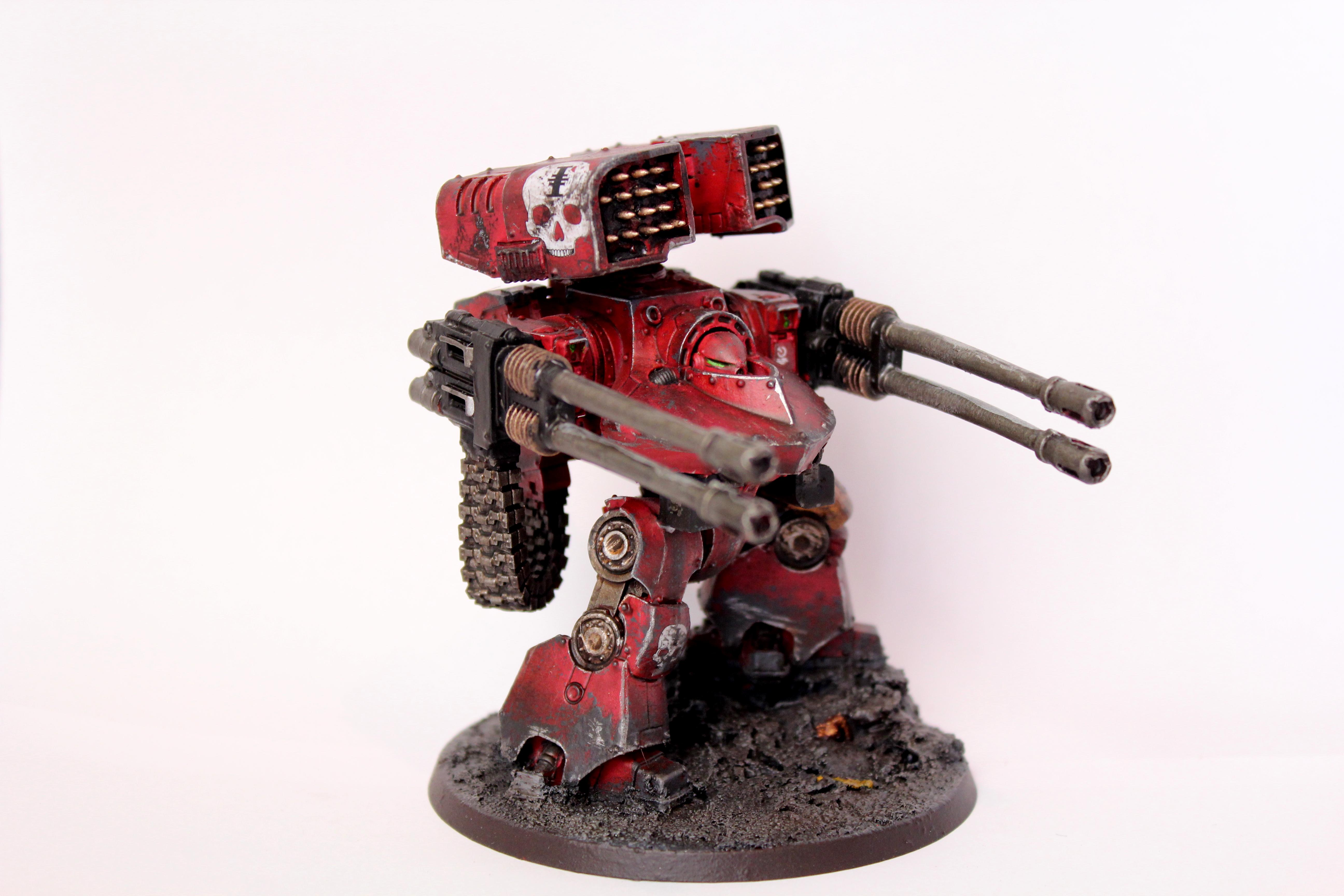 Deredeo, Dreadnought, Inquisition, Red Hunters, Space Marines, Warhammer 40,000