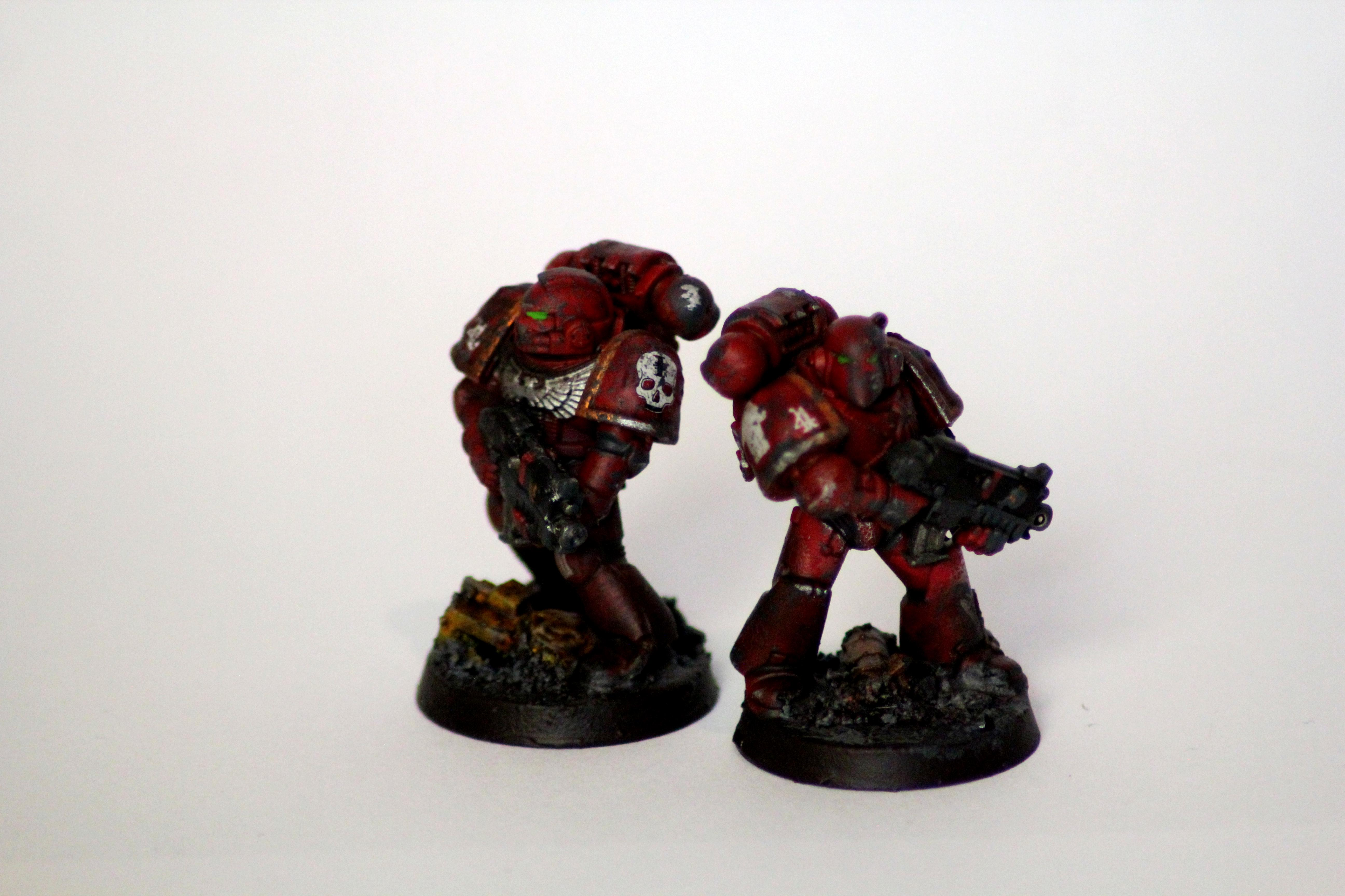 Inquisition, Red Hunters, Space Marines, Warhammer 40,000