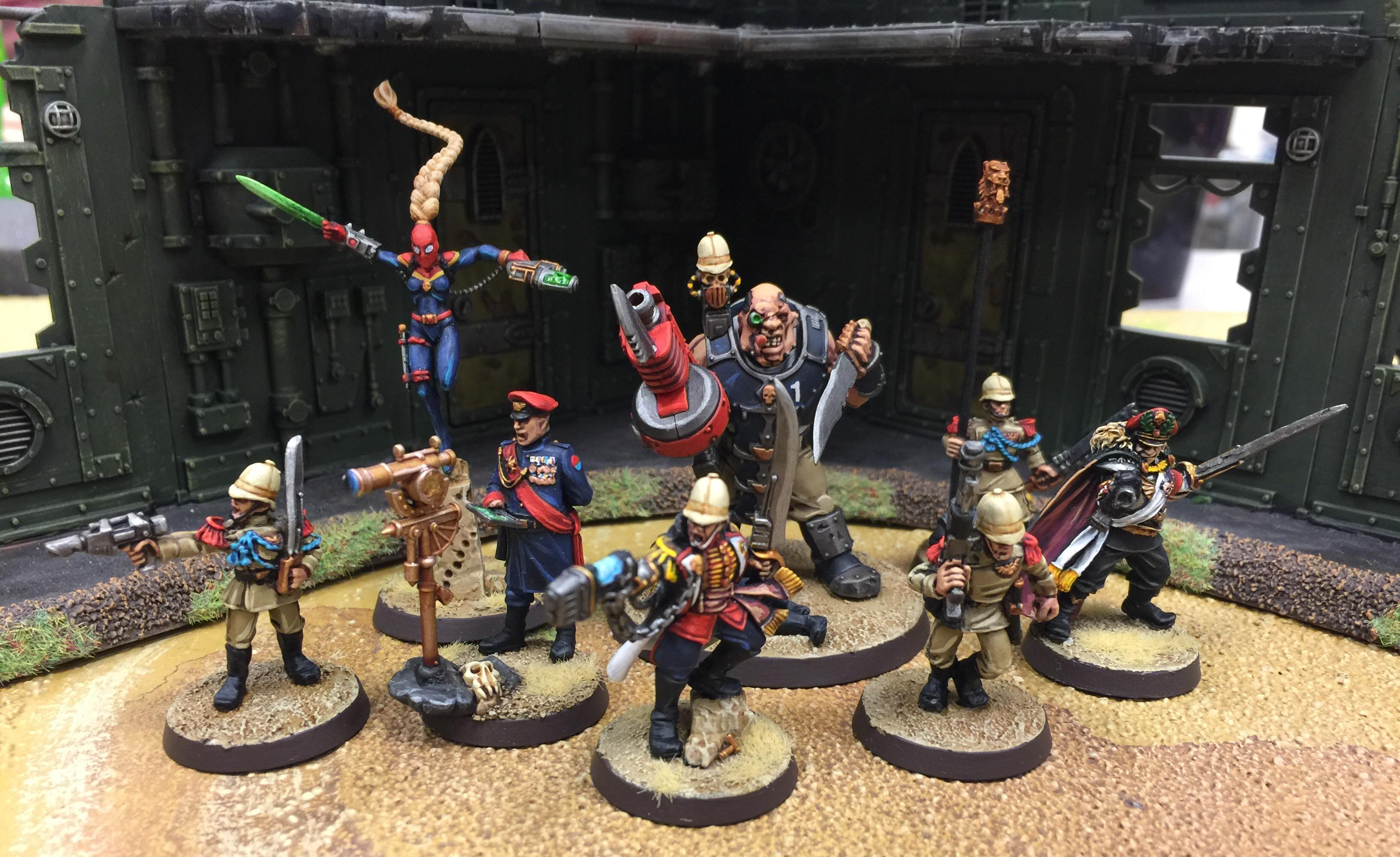 Assassin, Command Squad, Imperial Guard, Nork, Officer, Praetorians